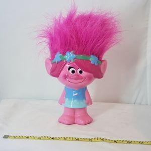 Poppy the troll piggy bank